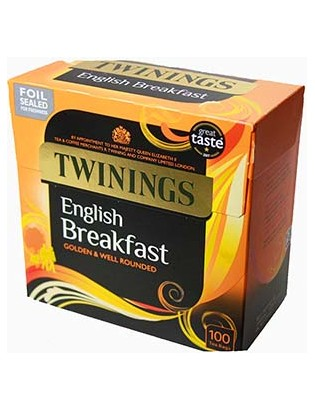 Twining's English Breakfast...