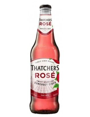 Thatchers Rose Cider 500ml...