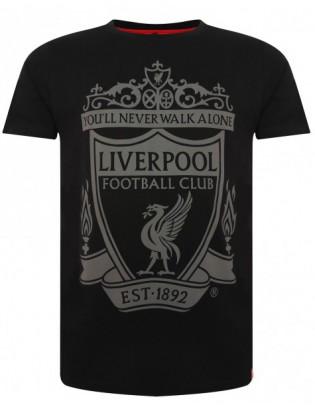 Crest T- Shirt Black