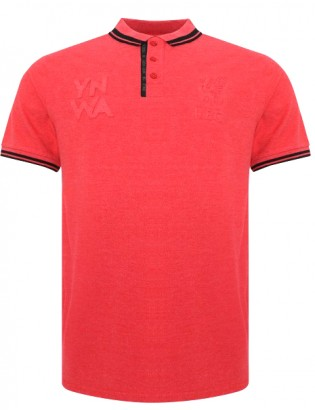 Marl Polo Shirt Red