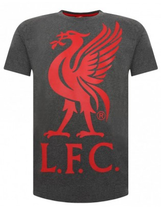 Liverbird Red Crest T- Shirt