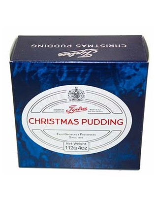 Tiptree Christmas pudding...