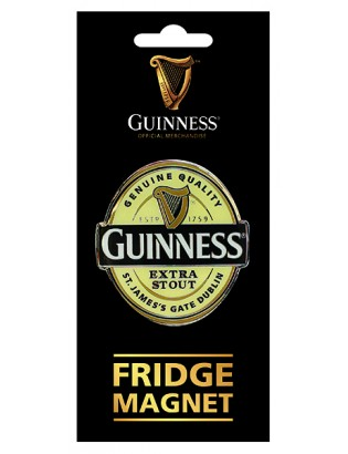 Guinness Logo Fridge Magnet